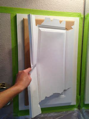 Laminate Cupboards Peeling by The Ragged Wren Painting Laminated Cabinets Diy Ideas