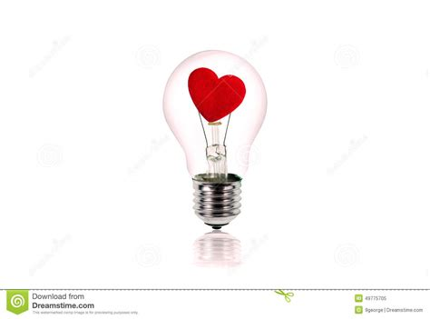 inside of a light bulb heart with cupid inside valentine s day cartoon vector