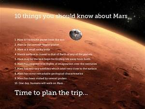 Mission to mars - the red planet