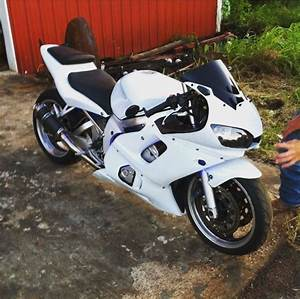 2002 Yamaha R6 Lowered And Extended