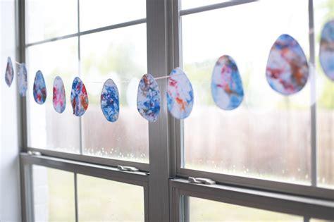 Osterdeko Fenster Lässt Die Osterstimmung Zum Ausdruck Kommen