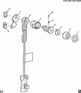 Chevrolet Silverado Retainer  Clip  Door Lock Cylinder
