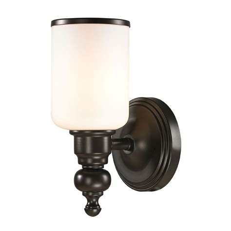 elk 11590 1 bristol rubbed bronze wall sconce lighting