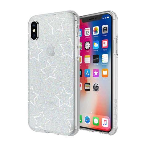Iphone X Glitter Star Cut Out Case  Design Series Classic