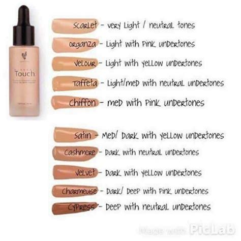 what foundation color am i younique s new touch mineral liquid foundation is amazing