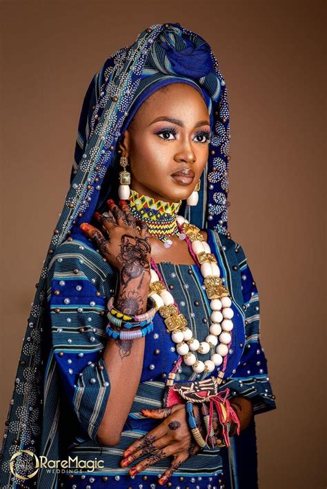 One Word for this Fulani Beauty Look - STUNNING