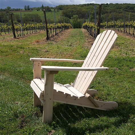 fully assembled adirondack folding chair by plant theatre