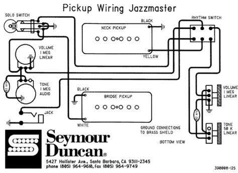 Jazzmaster Antiquity Wiring Help