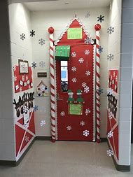 Best Christmas Door Decorating Contest Ideas And Images On Bing