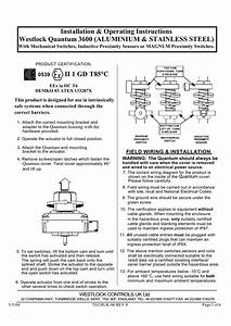 Westlock Limit Switch Wiring Diagram