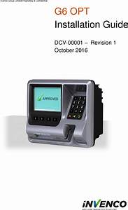 Invenco Group G60pb Payment Terminal With Rf Card Reader