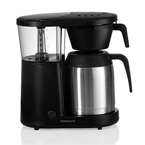 Learn what equipment makes great coffee and what to avoid. Bonavita Coffee Maker Machine - Drip Brewer, Stainless Steel Thermal Carafe, Flat Bottom Filter ...