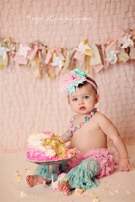 Shabby Chic Cake Smash Outfit From Ruby Blue