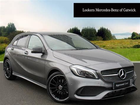 Mercedes classe a neuf remisée. Mercedes-Benz A Class A 200 AMG LINE PREMIUM (grey) 2017-11-20   in Crawley, West Sussex   Gumtree