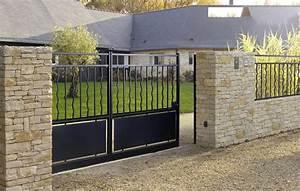 Lapeyre Portail Bois : portail pvc sur mesure lapeyre ~ Premium-room.com Idées de Décoration