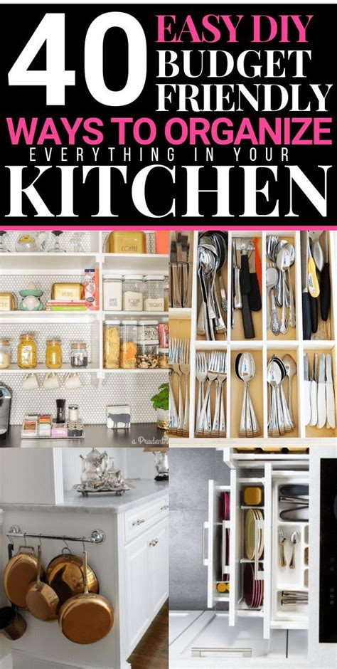 26+ Gorgeous Kitchen Organization Ideas Diy