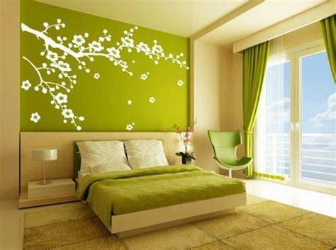 peinture verte chambre stickers chambre adulte lesquels choisir archzine fr
