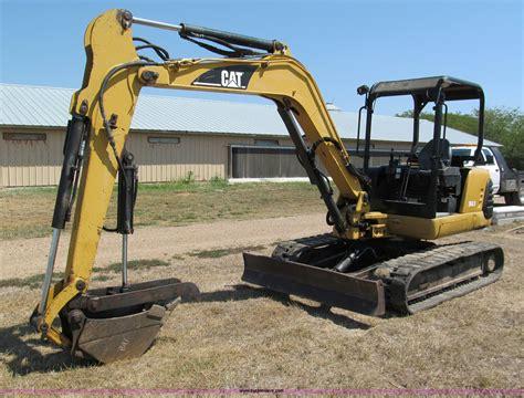 caterpillar  mini excavator  gravois mills mo item  sold purple wave