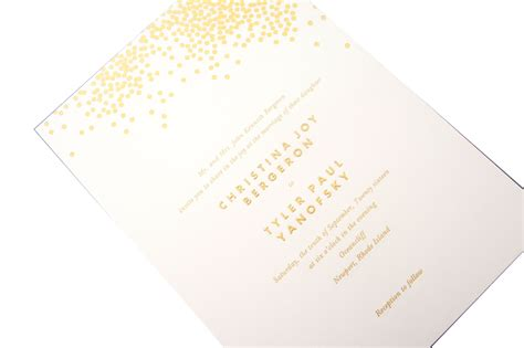 Simple elegant invitation from Veraavailable at