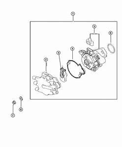 Dodge Avenger Distributor  Engine