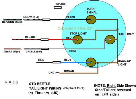 1973 Vw Beetle Light Wiring Diagram Taillight by Schematics Diagrams And Shop Drawings Page 4