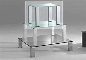 Couchtisch Weiß 60x60 : couchtisch callas glas wei und metall alu 60x60 h 42 ~ Markanthonyermac.com Haus und Dekorationen