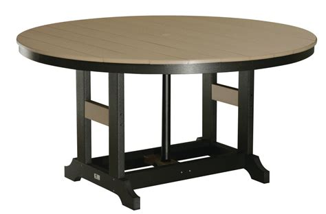 60 quot dining tables bar height