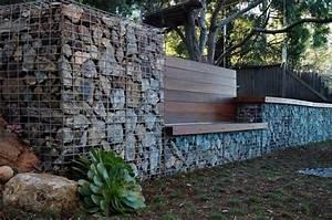 Seat Muret : gabbioni in pietra in giardino idee e consigli ~ Gottalentnigeria.com Avis de Voitures