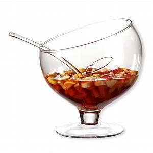 Verre à Punch : louche punch en verre transparent verrerie design bruno evrard ~ Teatrodelosmanantiales.com Idées de Décoration