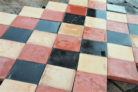 6 inch quarry tiles reclaimed 6 x 6 inch multi coloured quarry tile batches warwick reclamation