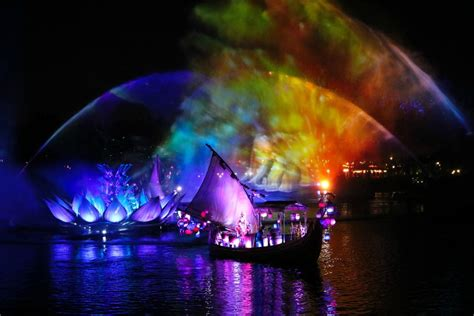 disney world light show disney 39 s animal kingdom new rivers of light show the