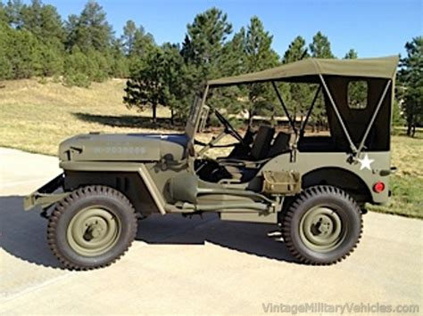 vintage willys jeep 1941 willys slatgrill mb jeep sold vintage military