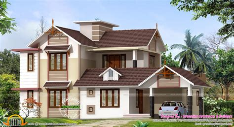 design a house 2400 sq ft house design kerala home design and floor
