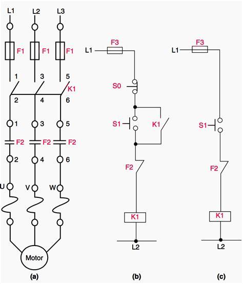 direct motor starter diagram wallpaperzenorg
