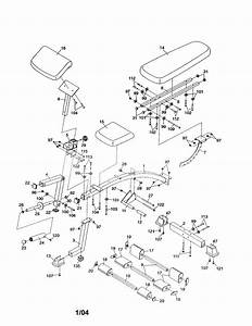 Proform 831153320 Weight System Parts