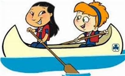Canoe Clipart Trip Canoeing Animated Kanoo Flow