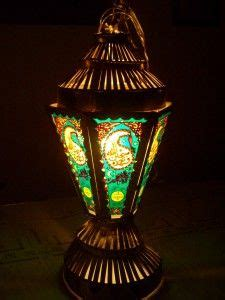 An Egyptian Fanoos lantern - Used as a way of celebration