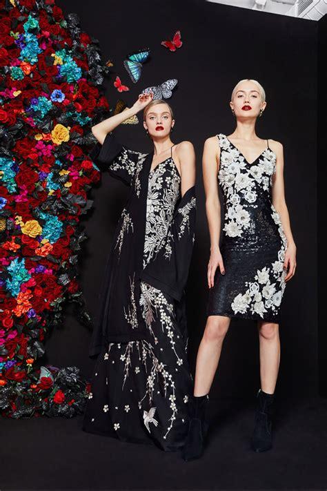 york fashion week alice olivia fall  collection