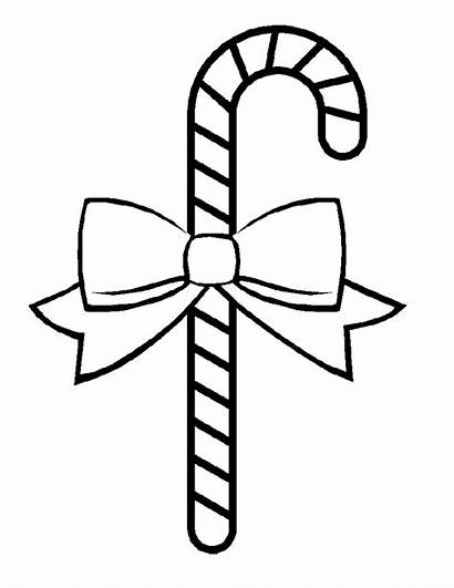 Coloring Pages Candy Cane Printable Christmas Tree
