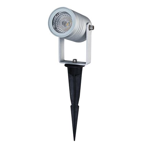 led spike light elite spike 12v 6w led garden spike light anodised