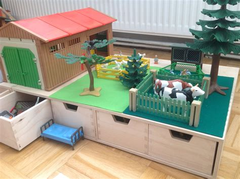 Playmobil Kinderzimmer Ideen by Playmobil Spieltisch Mit Sortierf 228 Chern U3 In 2019