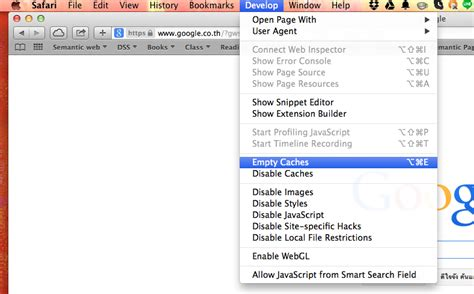 safari resume after restart how do you clear the offline cache for web apps in safari