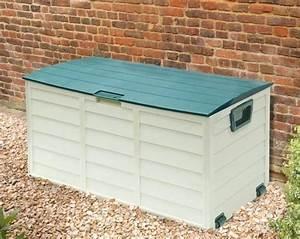 garden storage box plastic exhortme With katzennetz balkon mit garden storage box