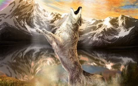 wolves mountains hd wallpaper hd latest wallpapers