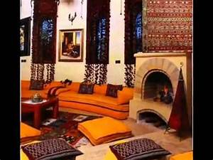 decoration maison marocaine youtube With decoration de maison marocaine