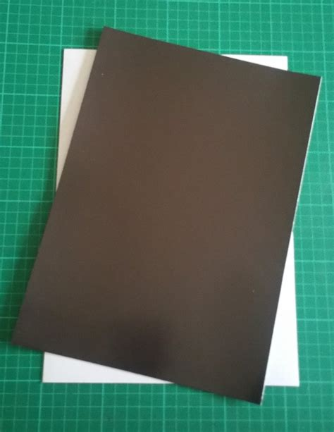 a4 self adhesive magnetic sheet for basing light weight
