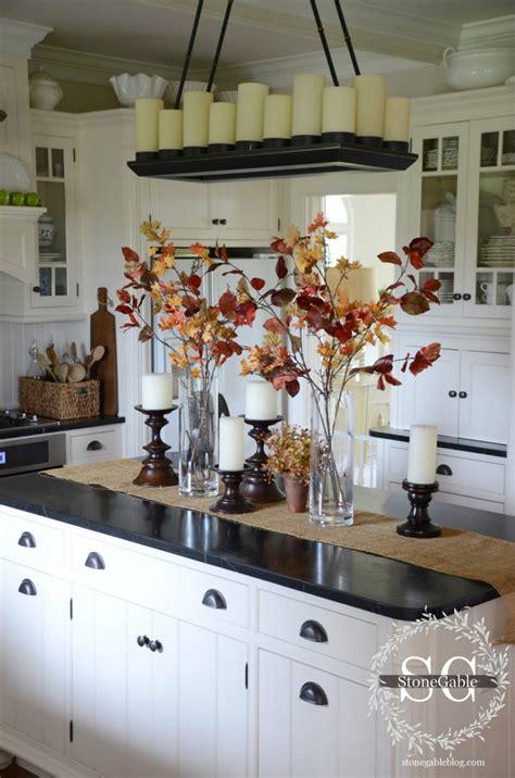 decorating kitchen accessories kitchen fall decor ideas that are simply beautiful 3113