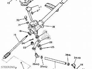 Golf Cart Steering Diagram : yamaha g1 a2 golf car 1981 parts lists and schematics ~ A.2002-acura-tl-radio.info Haus und Dekorationen
