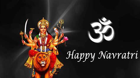 Happy Navratri Ambe Maa Hd 4k Wallpaper  Hd Wallpapers