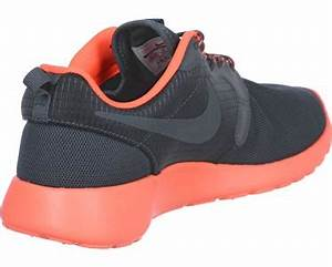 Nike Roshe e Hyp W shoes grey neon orange